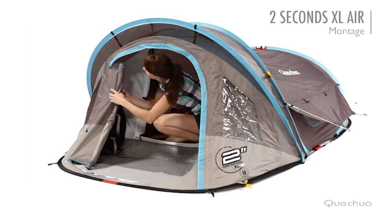 hot sale online 633b8 4faa0 Quechua Tenda 2 seconds XL air