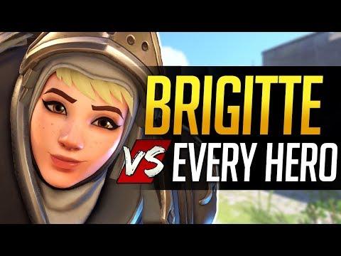 Overwatch BRIGITTE vs Every Hero - All Counters, Strengths, & Weaknesses
