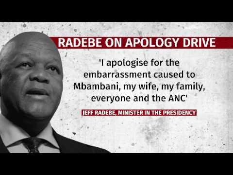 Jeff Radebe apology genuine or PR stunt ?