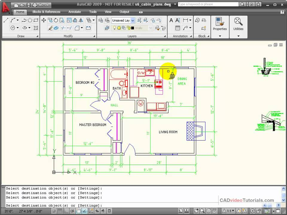 AutoCAD Tutorial - How to Match Object Properties