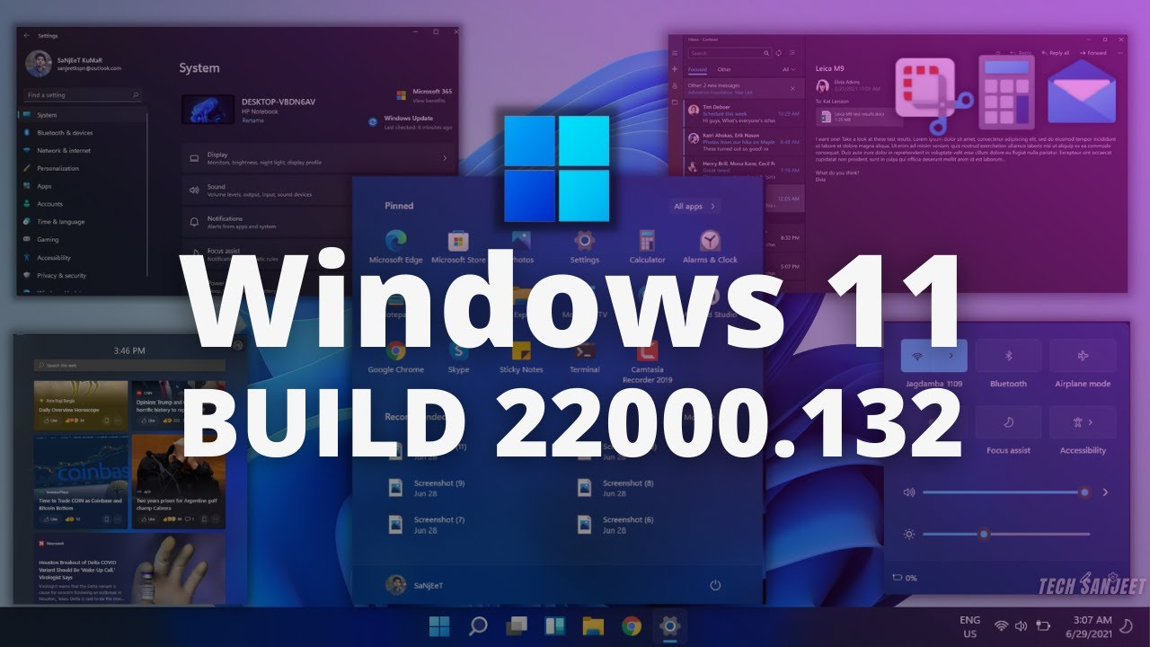 Windows 11 22000.132 ISO Now Available For Download Via Insider Preview Beta Channel