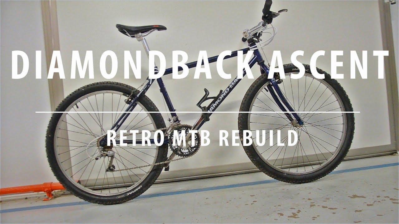 85a9b3d8889 1994 Diamond Back Ascent - Retro Mountain Bike Rebuild - YouTube