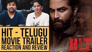 HIT Movie Trailer (Telugu)| Reaction In Hindi | Vishwak Sen | Ruhani S | Nani | Sailesh | Look4Ashi