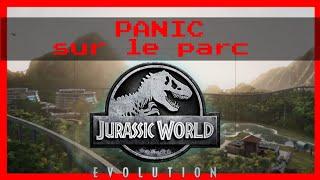 """PANIC sur le parc 🦖 """" #Jurassic World Évolution"""""""