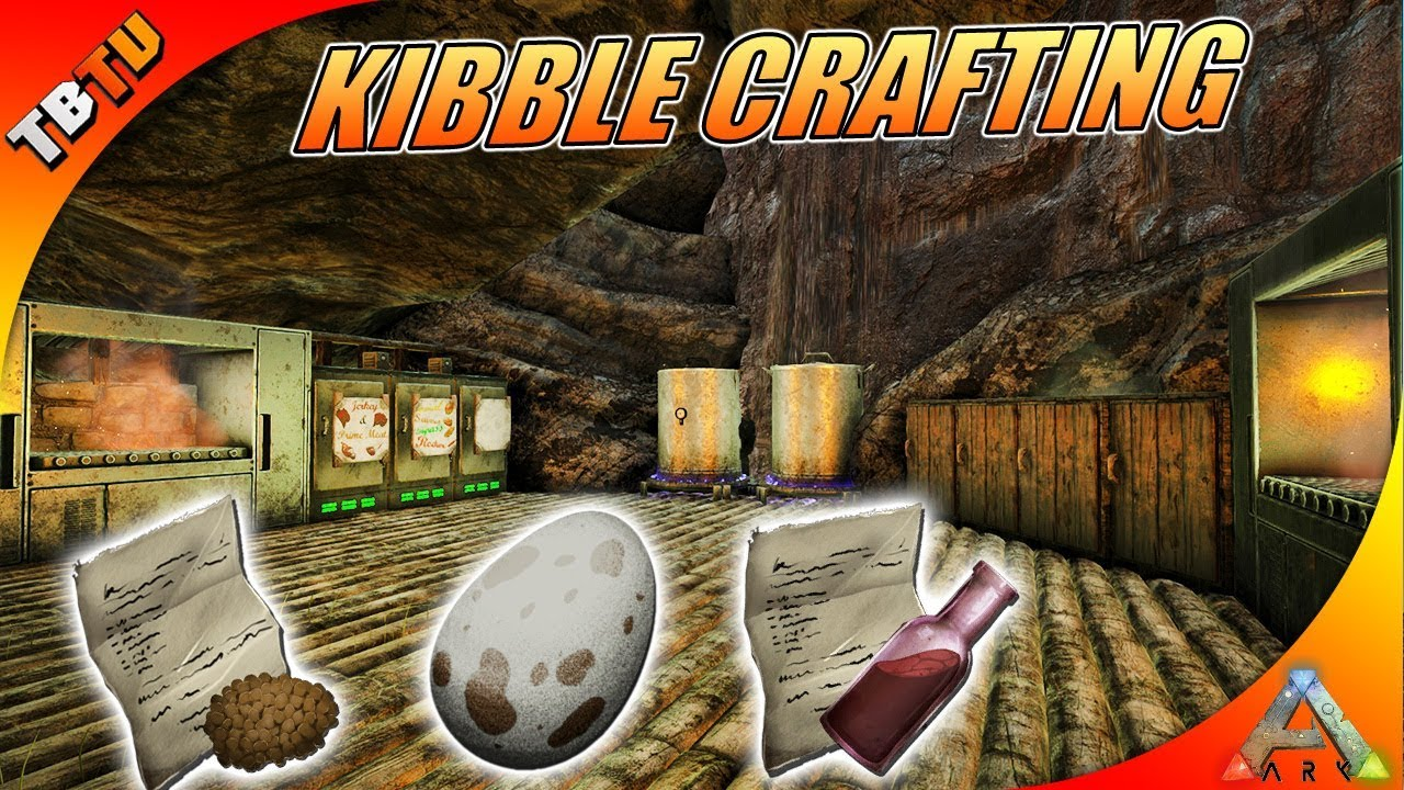 Ark Industrial Cooker And Grill Kibble Crafting Vanilla Ark