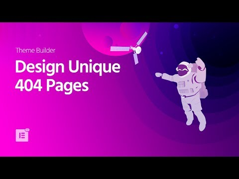 Introducing Elementor 404 Page Template