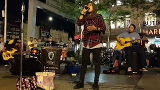 cinta terbaik-Zila ft kodots buskers cover Cassandra Band penuh perasaan