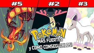 6 POKÉMON MAS FUERTES DE GALAR y COMO CONSEGUIRLOS! - Pokémon Espada y Escudo