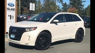 2013 Ford Edge Sport W/ Leather, Moonroof, AWD