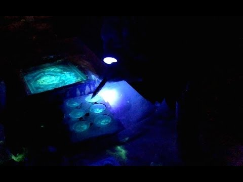 glow in the dark resin painting timelapse youtube. Black Bedroom Furniture Sets. Home Design Ideas