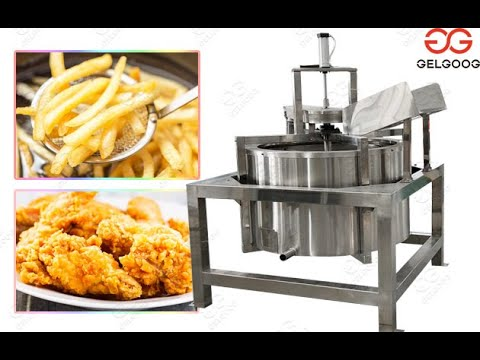 Factory Fried Food De-watering De-oiling Machine@gelgoog.com