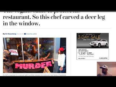 Crazy Vegans vs Restaurant