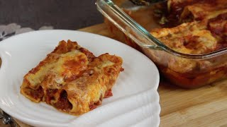 Beef Cannelloni Recipe - Episode 36- Amina is Cooking