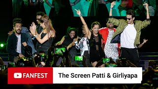 The Screen Patti & Girliyapa @ YouTube FanFest Mumbai 2019