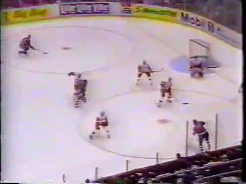 Ilya Byakin scores a winner vs Red Wings for Oilers (1993)