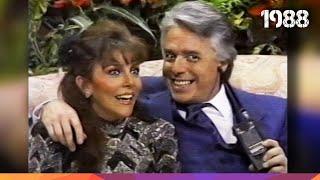 Verónica Castro y Enrique Guzmán - Momentos en Mala Noche No! - 1988.