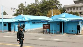 板門店 南北両国の共同警備区域(JSA, Joint Security Area)