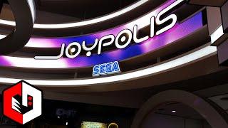 SEGA JOYPOLIS, Indoor Theme Park and Arcade in Tokyo Japan!