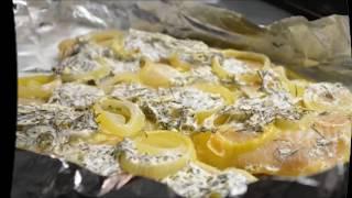 Филе минтая в духовке рецепт