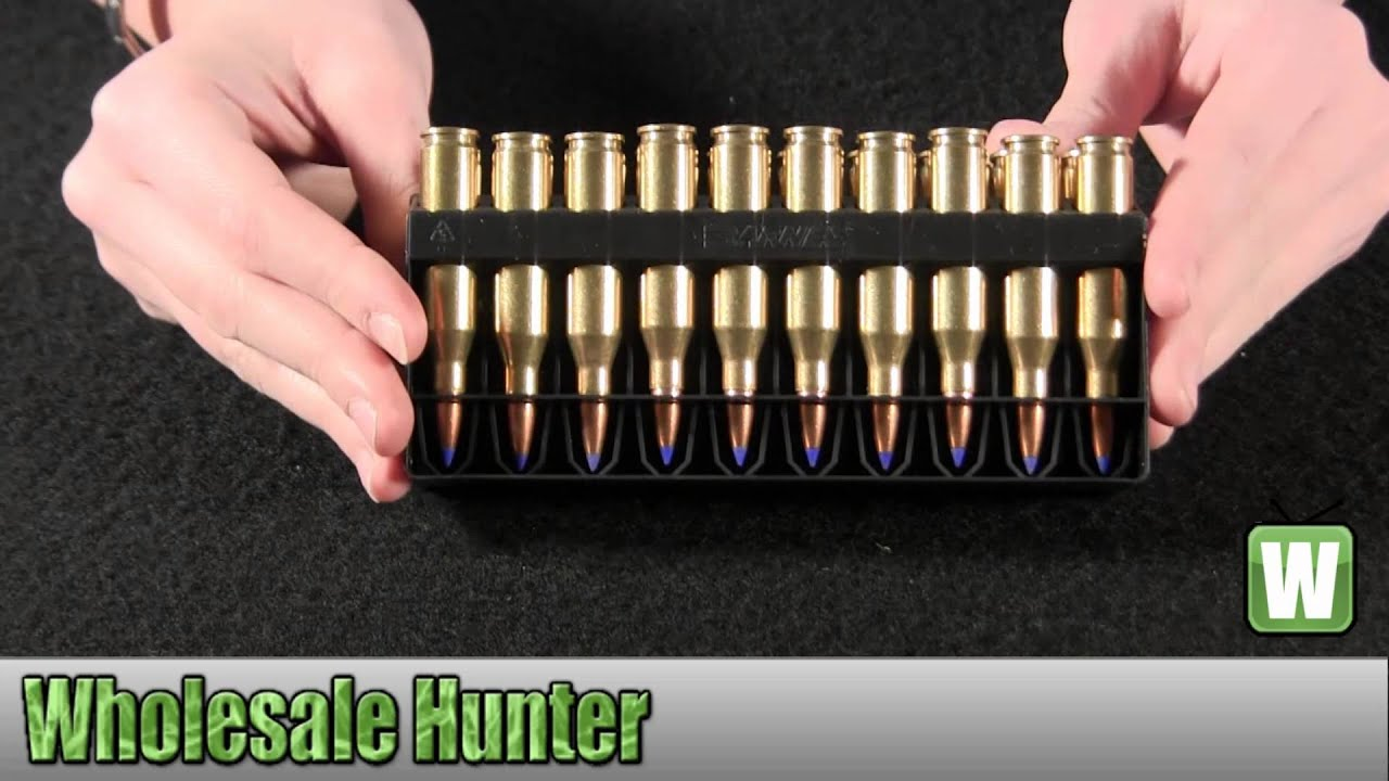 Barnes Bullets 243 Winchester 80gr TTSX-BT Per 20 21522 Unboxing