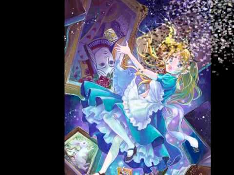 Falling Down The Rabbit Hole Wallpaper Alice In Wonderland Anime Style Youtube