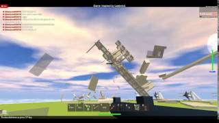 ROBLOX: Destroy the tower!