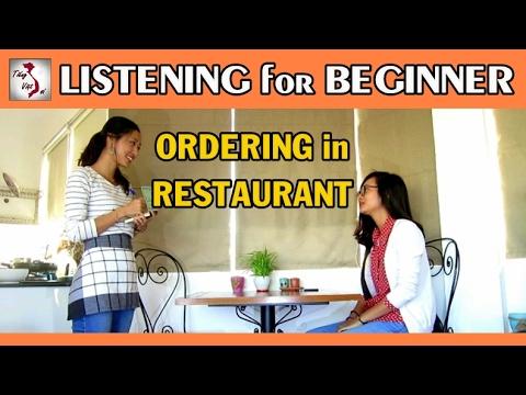 Learn Vietnamese with TVO   Listening for Beginner level: Ordering in Restaurant
