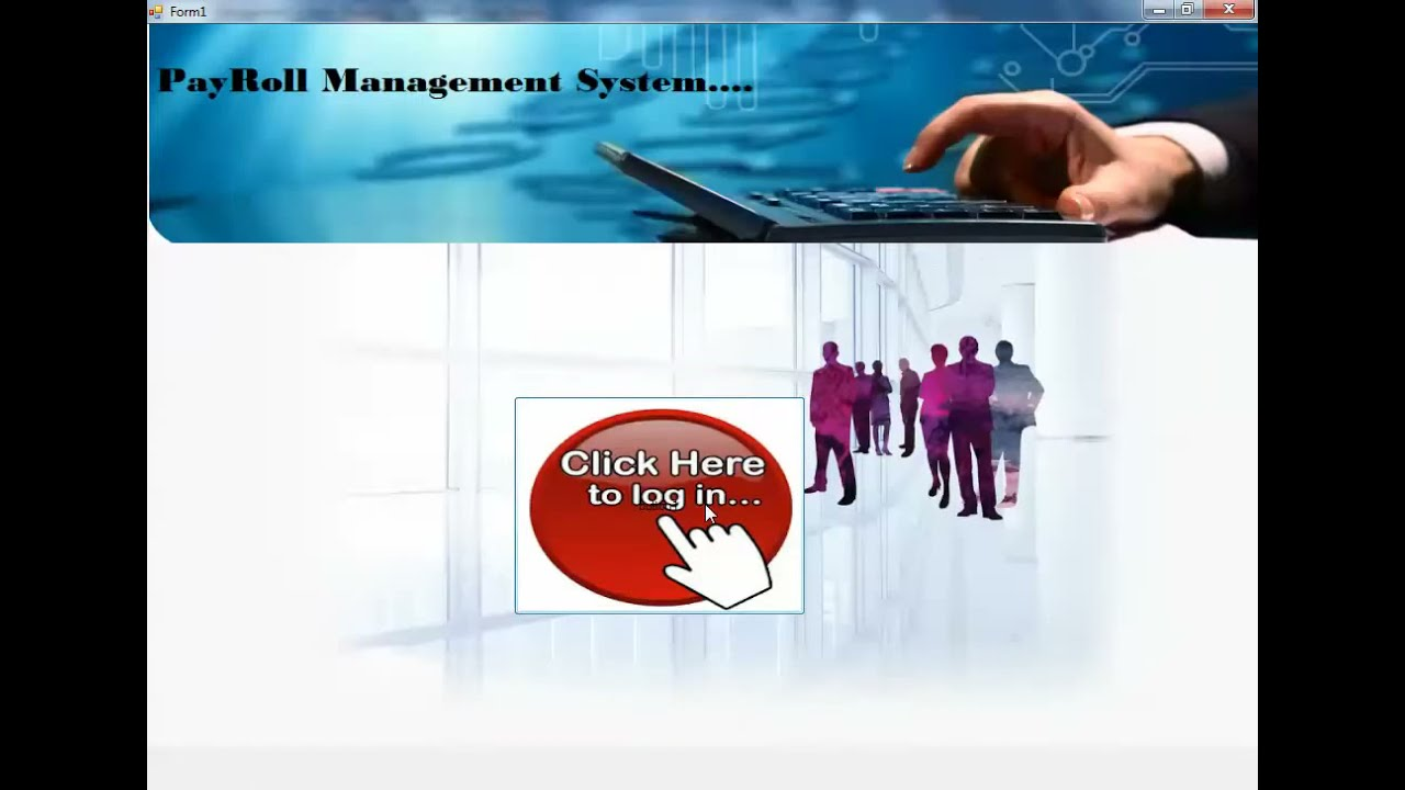 Payroll Management System Youtube