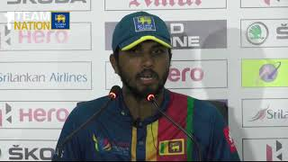 Nidahas Trophy 3rd T20I Post Match Press Conference - Dinesh Chandimal