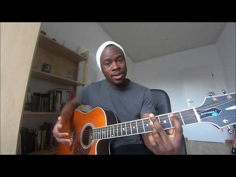 GENTLEMAN - Ric Hassani for Beginners (How to play?) [African Guitar Lesson]