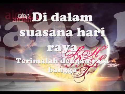 Senandung Hari Raya Untukmu - Dayangku Intan ~ Lirik~