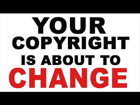 Everything You Know About Copyright Is About To Change - Brad Holland