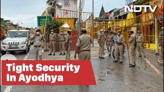 Ayodhya Ram Mandir Bhoomi Pujan: Tight Security At Hanumangarhi Temple Ahead Of PM Modi's Visit
