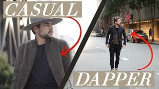Casual to Dapper Outfits | Mens Fall Fashion 2016