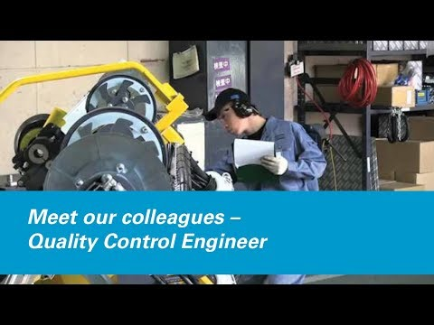 Meet our colleagues – Quality Control Engineer