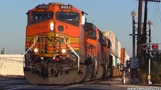 Amtrak & BNSF Action in Southern California (December 28th, 2013)