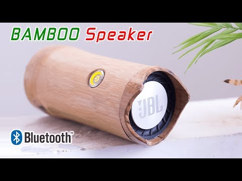Building Awesome Bamboo Bluetooth Speaker