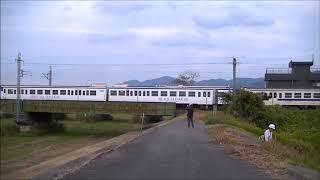 JR九州 キハ47(4両)廃車回送・DE10-1756牽引