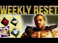 Destiny 2 WEEKLY RESET New Iron Banner Weapons Triple Dip Powerful Gear Milestones More mp3