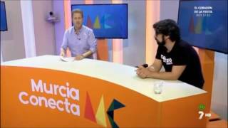 Baixar Borja Casado - Entrevista promoción Durazno en el programa Murcia Conecta