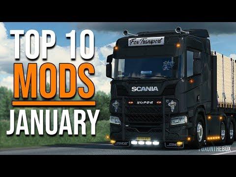 TOP 10 ETS2 MODS - JANUARY 2020 | Euro Truck Simulator 2 Mods
