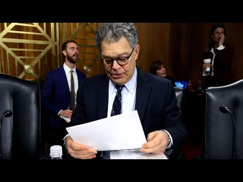 Sen. Franken gives first interviews in wake of sexual misconduct claims