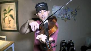Three Octave C Major Scale for Viola