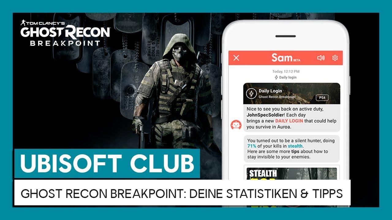 UBISOFT CLUB DAILY LOGIN: Dein Ingame-Fortschritt & Tipps für Ghost Recon Breakpoint | Ubisoft