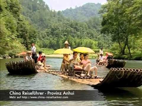 Chinas ostchinesische Provinz Anhui