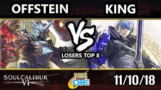 Live and Let Die - SC6 - OffStein (Nightmare) Vs. King (Groh) - Soulcalibur 6 Losers Top 8
