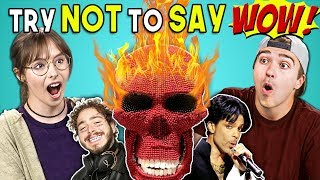Download Adults React To Try Not To Say Wow Challenge Mp3 and Videos
