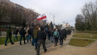 Марш нетунеядцев в Гомеле 25 марта 2017 года