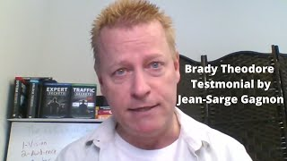 Testimonial By Jean-Sarge Gagnon to Bray Theodore The Gotti