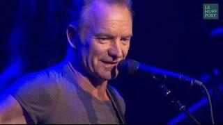 Les mots justes de Sting avant le concert hommage au Bataclan